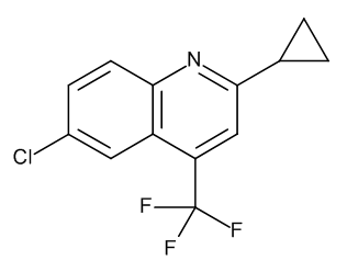 6-Chloro-2-cyclopropyl-4-(trifluoromethyl)quinoline