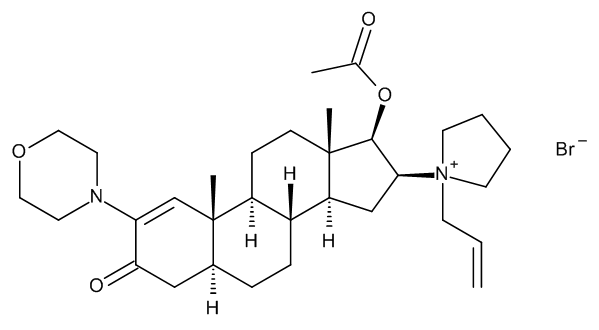 1,2-Dehydro-3-oxo Rocuronium Bromide