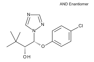 Triadimenol isomer B 100 µg/mL in Acetonitrile