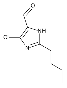 2-Butyl-4-chloro-1H-imidazole-5-carbaldehyde
