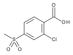 2-Chloro-4-methylsulfonylbenzoic acid