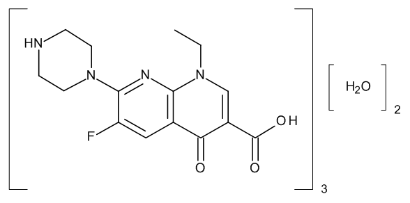 Enoxacin Sesquihydrate