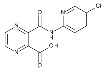 3-(5-Chloropyridine-2-carbamoyl)-2-pyrazinecarboxylic Acid