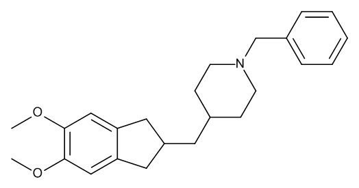 1-Benzyl-4-[(5,6-dimethoxy-2,3-dihydro-1H-inden-2-yl)methyl]piperidine