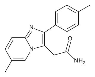 2-[6-Methyl-2-(4-methylphenyl)imidazo[1,2-a]pyridin-3-yl]acetamide