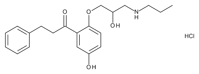 5-Hydroxypropafenone Hydrochloride