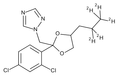 Propiconazole D5 (2,2,3,3,3-propyl D5) 100 µg/mL in Acetone
