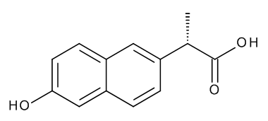 (2S)-2-(6-Hydroxynaphthalen-2-yl)propanoic Acid (O-Demethylnaproxen)