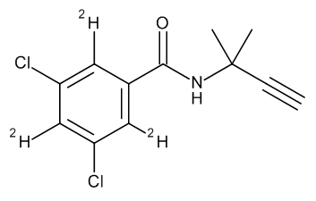 Propyzamide D3 (phenyl-2,4,6 D3)l 100 µg/mL in Acetonitrile