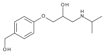 Des(isopropoxyethyl) Bisoprolol