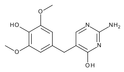 2-Amino-5-(4-hydroxy-3,5-dimethoxybenzyl)pyrimidin-4-ol