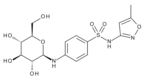 Sulfamethoxazole N4-beta-D-Glucoside