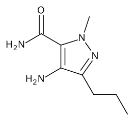 4-Amino-1-methyl-3-propyl-1H-pyrazole-5-carboxamide