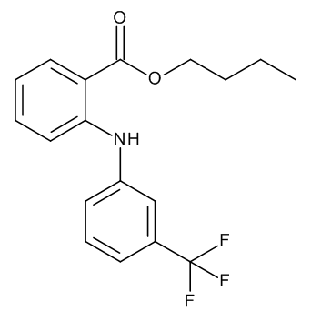 Butyl 2-[[3-(Trifluoromethyl)phenyl]-amino]benzoate (Butyl Flufenamate)
