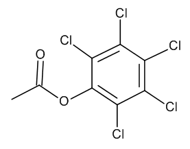 Pentachlorophenol acetate 10 µg/mL in Cyclohexane