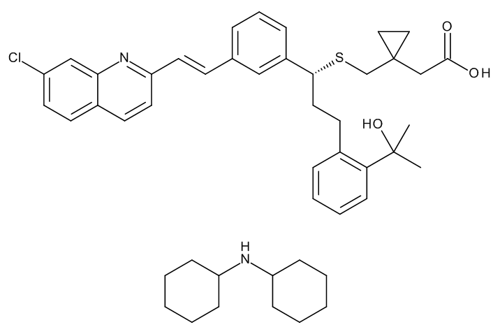 Montelukast Dicyclohexylamine
