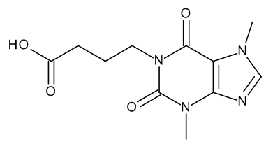 1-(3-Carboxypropyl)-3,7-dimethylxanthine