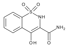 4-Hydroxy-2H-1,2-benzothiazine-3-carboxamide 1,1-Dioxide