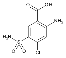 2-Amino-4-chloro-5-sulphamoylbenzoic Acid
