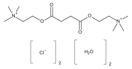 Suxamethonium chloride