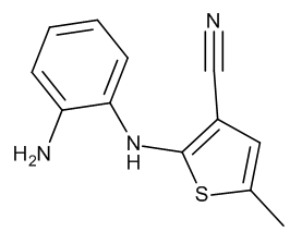 2-(1,2-Phenylene-diamino)-5-methylthiophene-3-carbonitrile