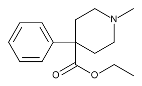 Pethidine (Meperidine) 0.1 mg/ml in Methanol