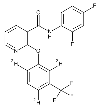 Diflufenican D3 (3-trifluoromethylphenoxy-2,4,6 D3) 100 µg/mL in Acetonitrile