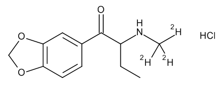 2-(Methylamino-d3)-3',4'-(methylenedioxy)butyrophenone Hydrochloride