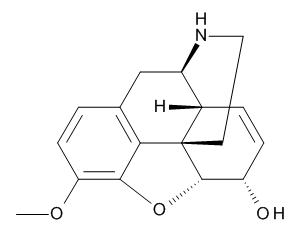Norcodeine 1.0 mg/ml in Methanol