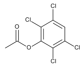 2,3,5,6-Tetrachlorophenol acetate 10 µg/mL in Isooctane