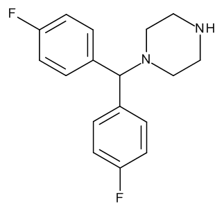 1-[Bis(4-fluorophenyl)methyl]piperazine