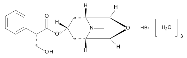 Hyoscine Hydrobromide Trihydrate