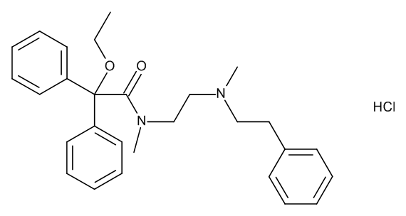 Carbiphene Hydrochloride
