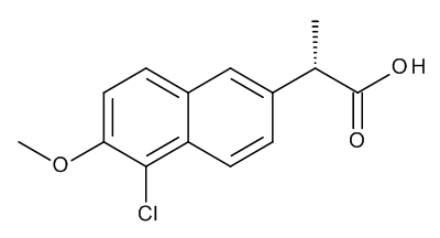 (2S)-2-(5-Chloro-6-methoxynaphthalen-2-yl)propanoic Acid (5-Chloronaproxen)