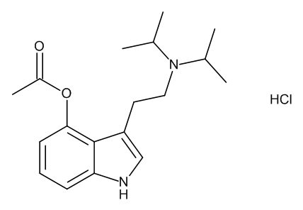 4-Acetoxy-N,N-diisopropyltryptamine Hydrochloride (4-AcO-DIPT HCl; 4-Acetoxy-DIPT HCl; Ipracetin HCl)