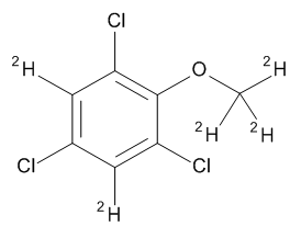 2,4,6-Trichloroanisole-d5