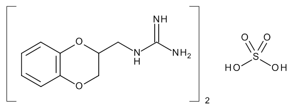 Guanoxan Sulfate