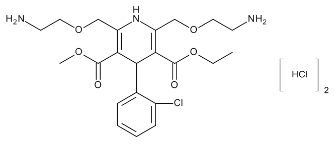 Ethyl Methyl (4RS)-2,6-Bis[(2-aminoethoxy)methyl]-4-(2-chlorophenyl)-1,4-dihydropyridine-3,5-dicarboxylate Dihydrochloride
