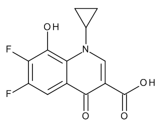 1-Cyclopropyl-6,7-difluoro-1,4-dihydro-8-hydroxy-4-oxo-3-quinolinecarboxylic Acid