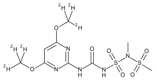Amidosulfuron D6 (dimethoxy D6)