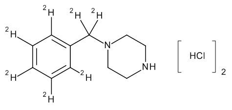 Benzylpiperazine-D7 diHCl (0.1 mg/ml) in Methanol