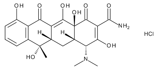 4-Epitetracycline hydrochloride