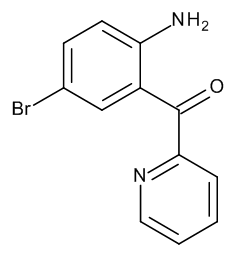 2-(2-Amino-5-bromobenzoyl)pyridine