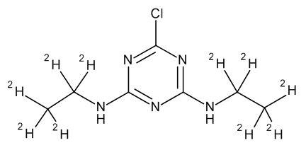 Simazine D10 100 µg/mL in Acetone