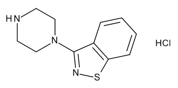 3-Piperazin-1-yl-1,2-benzisothiazole Hydrochloride
