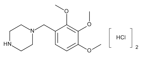 Trimetazidine (hydrochloride)
