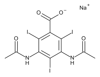 Sodium amidotrizoate