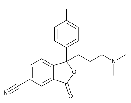(3RS)-6-Cyano-3-[3-(dimethylamino)propyl]-3-(4-fluorophenyl)isobenzofuran-1(3H)-one