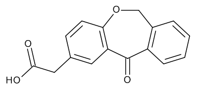 (11-Oxo-6,11-dihydrodibenzo[b,e]oxepin-2-yl)acetic Acid (Isoxepac)
