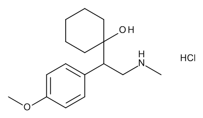 1-[(1RS)-1-(4-Methoxyphenyl)-2-(methylamino)ethyl]cyclohexanol Hydrochloride
